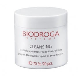 Biodroga Cleansing Eye Make Up Remover Pads 70 pieces