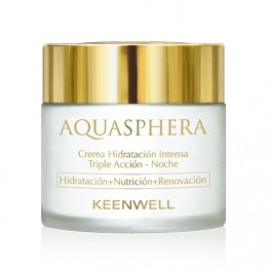Keenwell Aquasphera Triple Action Intensive Moisturizing Night Cream 80ml