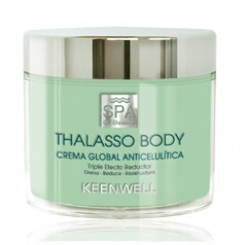 Keenwell SPA of Beauty Thalasso Body Anticellulite Global Cream  Triple Reducing Effect 270ml