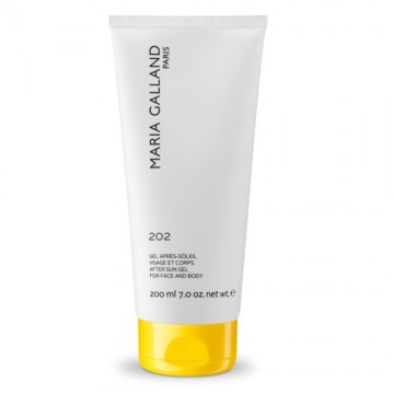 Maria Galland 202 After Sun Gel for Face and Body 200ml