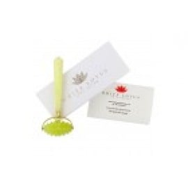 White Lotus Jade Roller Massager for Face and Body
