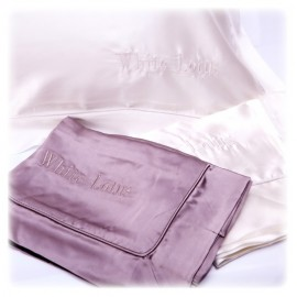 White Lotus Pure Silk Pillowcase